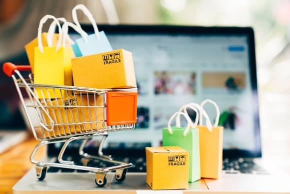 Pozycjonowanie sklepów ilustracja